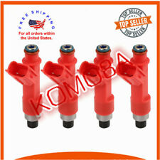 1001-87F90 4x Flow match Fuel Injector For Toyota 1.5 1.8 Lotus Elise Scion 2.4