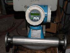 "Endress Hauser Promass 63F flowmeter, 1"", AC 50/60Hz, tested, 6-month warranty"