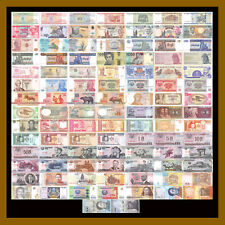 100 Pieces - PCS, Different World MIX Foreign Banknotes,Currency,Uncirculated #2