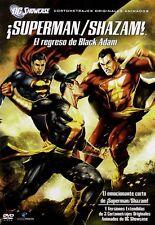 SUPERMAN SHAZAM THE RETURN OF BLACK ADAM **Dvd R2** PAL UK