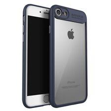 """IPAKY TPU Gel Case Frame elastisch Transparent Hülle Blau für iPhone 8 7 4.7"""""""