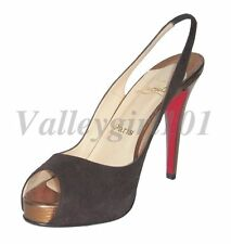 c2cad342a19 Christian Louboutin Suede Slingbacks for Women for sale | eBay