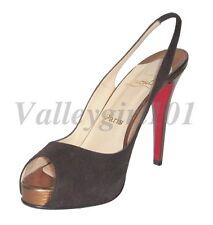 28fc830ceba Christian Louboutin Women's Suede Heels for sale | eBay
