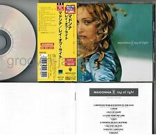 MADONNA Ray of Light JAPAN CD WPCR-2279 '98 Best Hit Price ¥1,980 w/OBI+BOOKLET