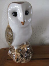 Beautiful Large Barn Owl Flower Vase By Quail Ceramics Boxed Ideal Gift