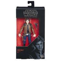 Hasbro Star Wars Black Series 6 inch Han Solo #62 Figure Alden Ehrenreich