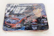 Kurt Busch Collectible Metal Tin NASCAR #97 Velveeta Promo New Sealed