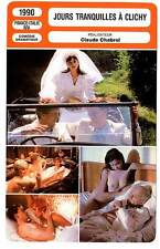 FICHE CINEMA : JOURS TRANQUILLES A CLICHY  McCarthy,Havers 1990 Quiet Days in C.