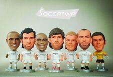 "Soccer Real Madrid 2005 Season Football Stars 2.5"" Action Dolls Toy Figurine"