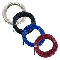 "1/4"" RO Tubing Reverse Osmosis Pipe Piping White Black Blue or Red 5m or 10m"