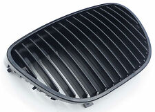 Black slatted badgeless car grill compatible with Seat Ibiza 6L 2002-2009