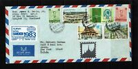 Thailand 1983 Airmail Cover to USA - Lot 092717