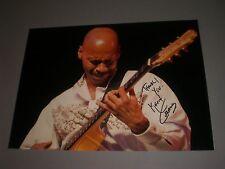 Kevin Eubanks JAZZ SIGNED FIRMATO Autograph AUTOGRAFO su foto 20x28 in persona