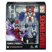 Transformers G1 STARSCREAM Hasbro Power Primes Voyager Action Figure Kid Collect
