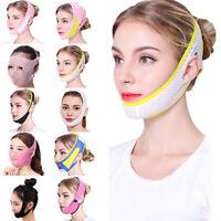 V-line face slimming belt chin cheek lift up shaper strap band anti wrinkle~_ex