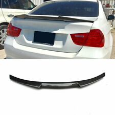 Fit For Bmw E90 3 Series 335ior M3 Sedan Carbon Fiber Style Rear Spoiler M4 Type (Fits: Bmw)