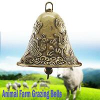 Alloy Bells Grazing Farm Animals Cattle Sheep Dog Cat Cow Horse Bells 60x65mm