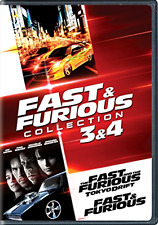 Fast & Furious Collection: 3 & 4 (The Fast and the Furious: Tokyo Dri... .