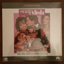 LASERDISC Movie: SOAP DISH - Sally Field, Kevin Kline, Whoopi - Collectible