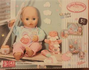 Zapf Creation 703274 Baby Annabell Pflegeset Puppenzubehör Strampler 39-46cm NEU
