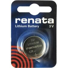 Renata CR2032 Cell Battery Lithium Single Pack - FREE SHIPPING