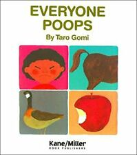 Everybody Poops (pb) Taro Gomi - learn about digestive system NEW