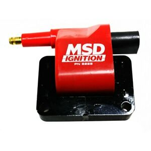 8228 MSD Ignition Coil New for Chevy S10 Pickup Le Baron Ram Van Truck 1500 Jeep