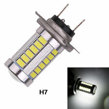 1x H7 5630 33 SMD LED Pure White DRL Fog Light Headlamp Car Bulb 9-15V