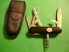 "NTSA SWISS ARMY WENGER MULTIFUNCTION POCKET KNIFE ""GALAHAD PACKLOCK"" WITH CASE"