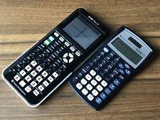 Ti84 Plus Ce Graphing Calculator - Black + Free Ti30X Iis
