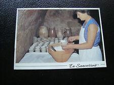 FRANCIA cartolina 1992 in sancerrois la industria di trasformazione della