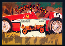 Mozambique - 2002 -Vintage Cars / Ferrari - Marmon Wasp / SS - II - MNH