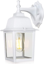 Wenfeng Dusk To Dawn Outdoor Light Fixtures Wall Mount, Porch Light With Waterpr