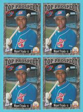 Lot of (4) 1997 Best RC Miguel Tejada Huntsville Stars A's #15 (KCR)