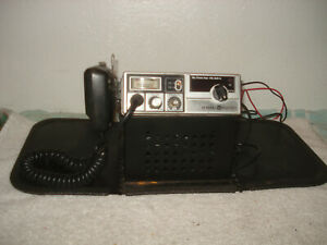 GENERAL ELECTRIC CB RADIO 3-5804G 40 CHANNEL TESTED WORKING WITH HOOK-UPS