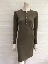 Ralph Lauren Sport Merino Wool Thin Knit Sweater Dress M Medium