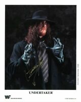 The Undertaker Promo Print Wrestling Photo 8x6 Inch Hologram & Numbered