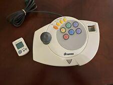 Sega Dreamcast Topmax Arcade Stick controller pad Joystick Video Game VMU