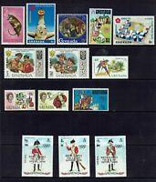 GRENADA...1967 & 1970 EXPO ,1971  SCOUTS , 1972 WINTER OLMPICS JAPAN...MUH