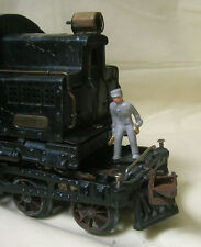Train Engineer, Reproduction w/ magnetic base, use with pre-war Standard Gauge