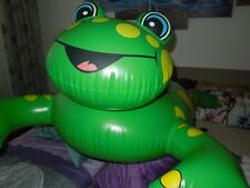 Schwimmtier Badetier ROYALBEACH 2005 FROSCH Inflatable Pool Toy 160 x 130cm