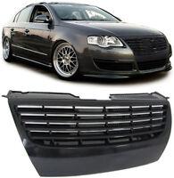 BLACK DEBADGED SPORTS GRILL FOR VW PASSAT B6 3C 3/2005-7/2010 NICE GIFT