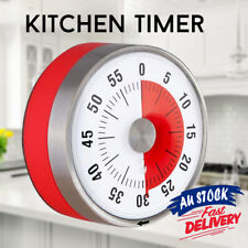 Kitchen Timer Visual Magnetic Counter Time 8CM Mechanical Oven 60 Minutes Timers
