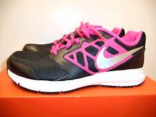 Nike Downshifter 6 (GS/PS) girls athletic shoes 6Y black pink silver  68516 001