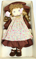 Dolls By Pauline Bjonness Jacobsen Brunette Cloth Rebecca Doll Vintage NOS MINT