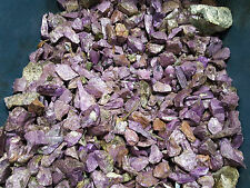 Stichtite small pieces. Purple Lapidary Rough, from South Africa. 1 pound lot