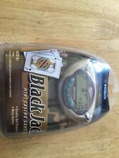 Vintage Tiger Electronics 2002 Mini Black Jack Mini Juego De Casino