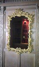 Oak leaf & acorn antique 18th century Georgian gilded mirror 94 x 56cm replica