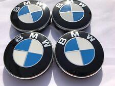 4x Original BMW 1er F40 Radkappendeckel 55mm Radnabendeckel Emblem Radzier klein
