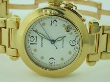 Mens Cartier Pasha 18K Solid Gold